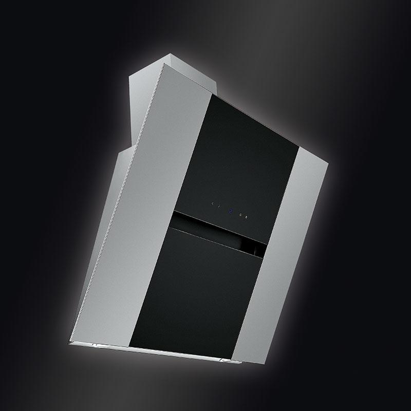 LIBRA mit schwarzem Satinglas